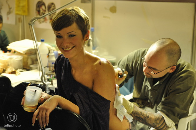 London tattoo convention. Photo of Rie Gomita by Reuters via Edmonton Sun